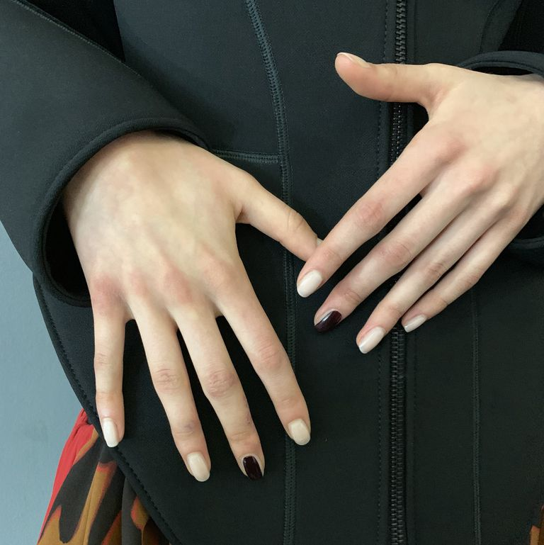 Mugler's Paris Fashion Week Show Makes the Middle Finger Manicure a Thing